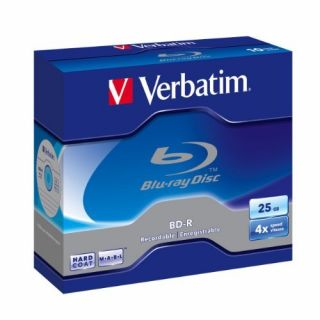 Product image of Verbatim 25GB BD-R 4x Single Jewel Case