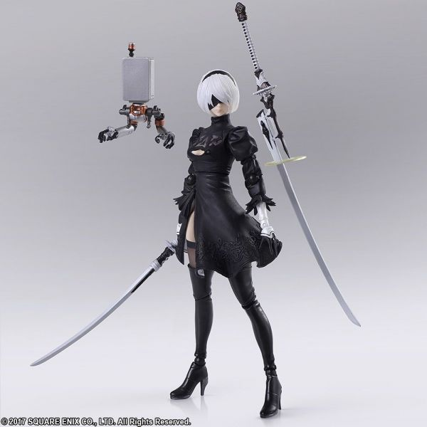 NieR:Automata Bring Arts YoRHa No.2 Model B / 2B Version 2.0 (Reissue) Image