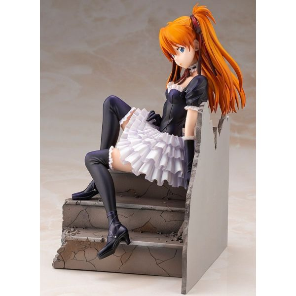 Asuka Langley Soryu Gothic & Lolita Ver. :RE - 1/7 Scale Statue Reissue (Neon Genesis Evangelion) Image