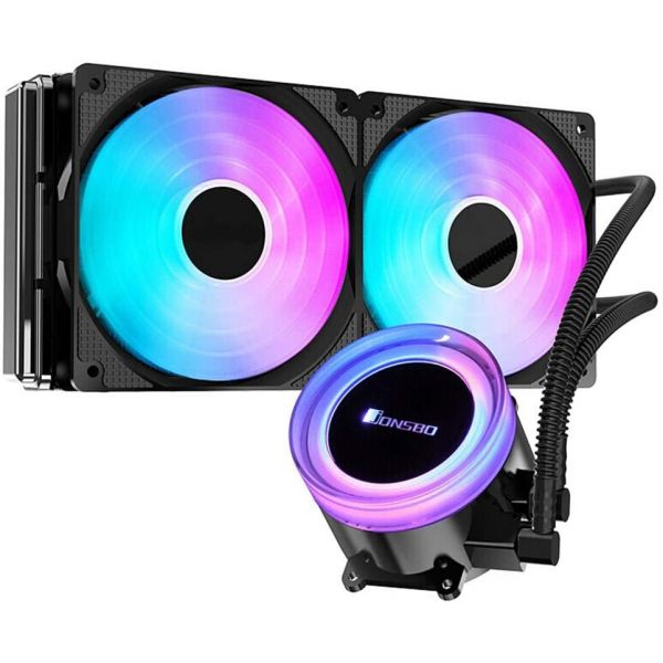 Jonsbo ANGELEYES TW2-240 RGB High Performance CPU Water Cooler RGB (240mm) Image