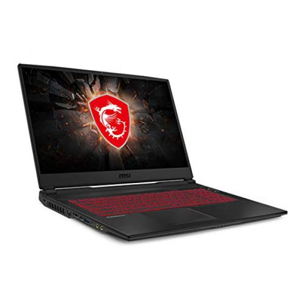 "MSI GL75 NVIDIA RTX 2060 16GB 17.3"" 120hz FHD i7-9750H Gaming Laptop Image"