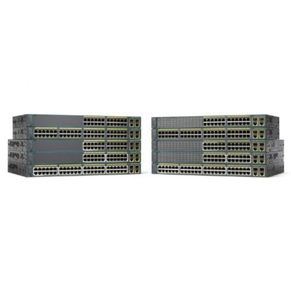CISCO - NETWORKING: MIDRANGE SWI CATALYST 2960 PLUS 24 10/100 + 2T/SFP LAN BASE