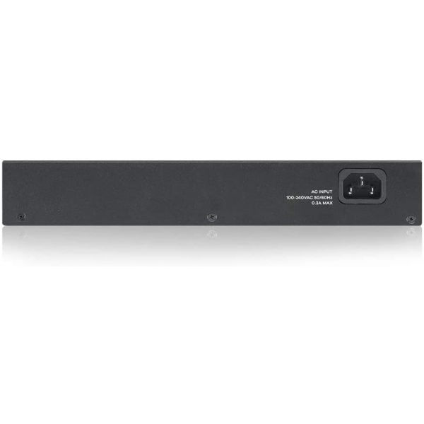 ZYXEL - SWITCH ZYXEL GS1100-24 24 PORT GIGABIT UNMANAGED SWITCH V3 Image
