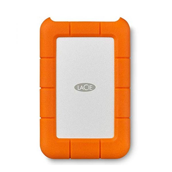 LaCie Rugged (4TB) USB-C Portable Hard Disk Drive Image