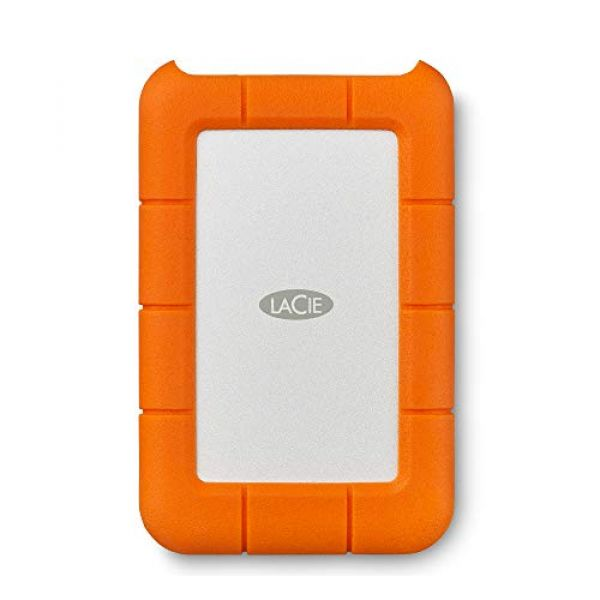 LaCie Rugged (1TB) Portable Hard Disk Drive Image