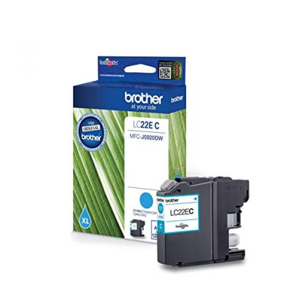 Brother Supplies Brother LC22EC - Super High Yield - cyan - original - ink cartridge - for Brother MFC-J5920DW Image