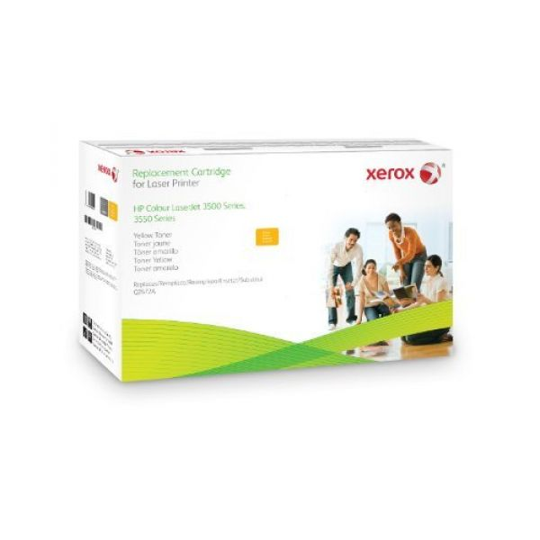 Xerox Compatible HP (Yield: 4,200 Pages) Yellow Toner Cartridge