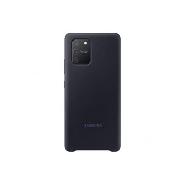 Samsung Silicone Cover EF-PG770 - Back cover for mobile phone - silicone - black - for Galaxy S10 Lite Image