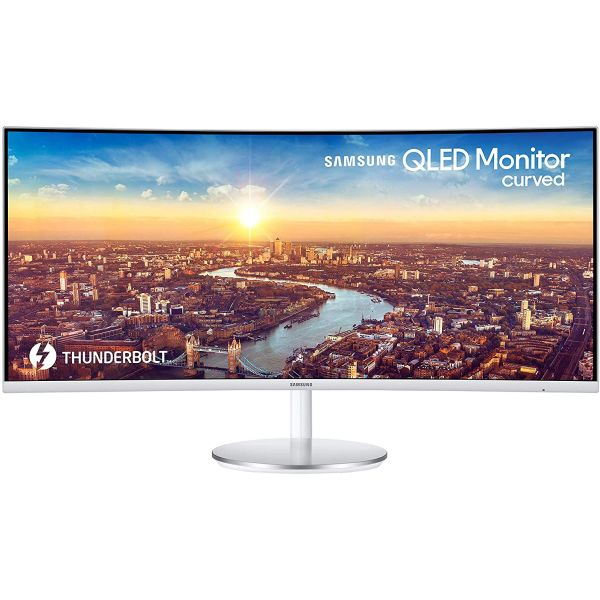 SAMSUNG - MONITORS 34IN C34J791W QLED 21:9 4MS 3000:1 DVI/HDMI Image