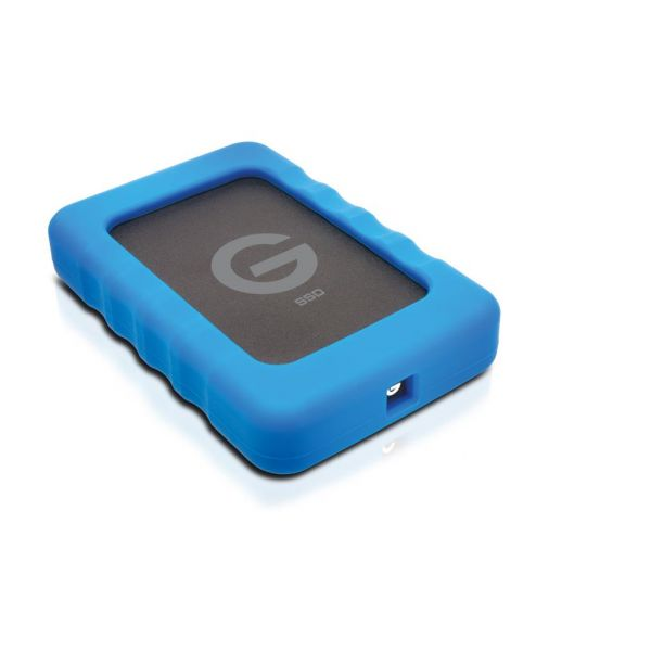 G-Technology G-Drive ev RaW SSD GDEVRSSDEA10001SDB (1TB) USB 3.0 425MB/s 2.5 Inch Portable External Solid State Drive Image