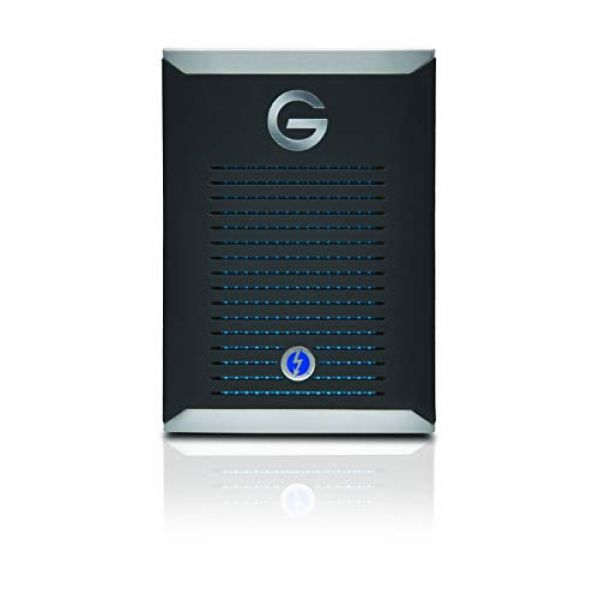 G-Technology G-DRIVE Mobile Pro (500GB) Thunderbolt 3 Solid State Drive (External) Image