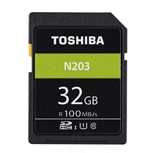 [Ex-Demo] Toshiba 32GB N203 Class 10 SD Card (Opened / Not in original packaging) Image