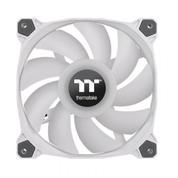 ThermalTake Pure Duo 12 ARGB Sync Twin White Fan Pack - 120mm Image