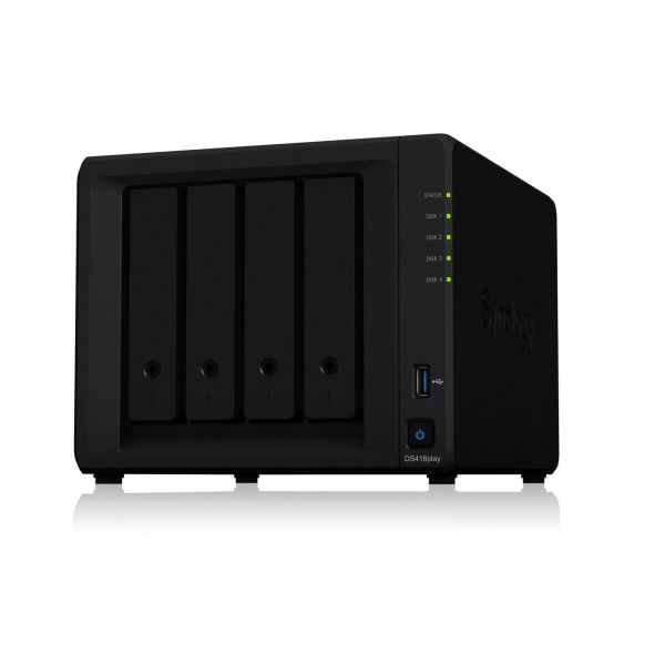 Synology DS418play/40TB N300 4 Bay Dsktp Image
