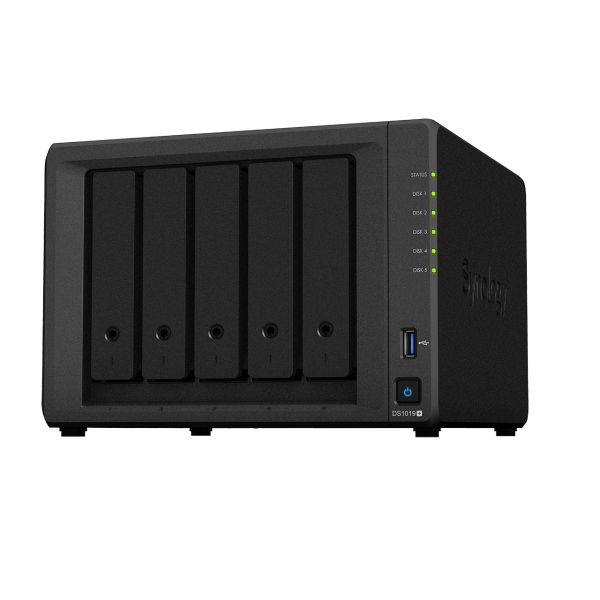 Synology DS1019+/15TB IW 5 Bay Desktop Image