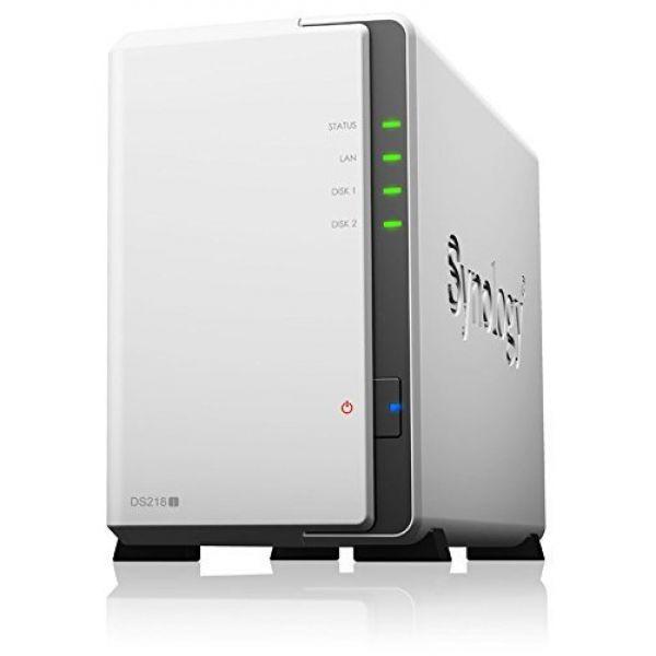 Details about Synology DiskStation DS218j (0TB) 2-Bay Entry-Level NAS Server