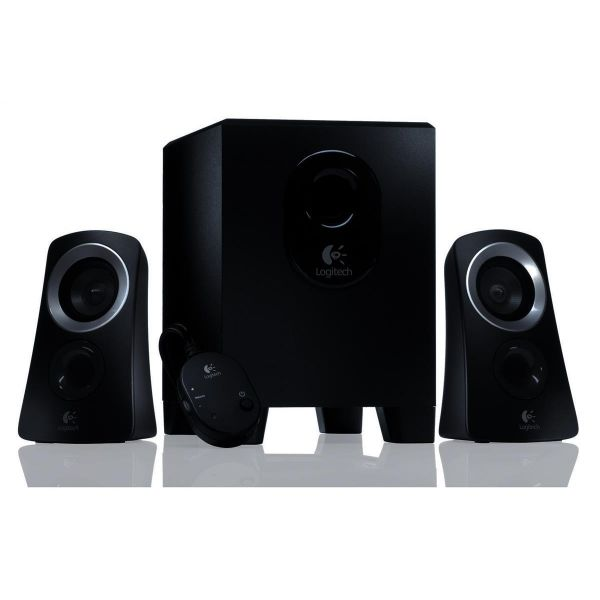 logitech z313 speaker system black. Black Bedroom Furniture Sets. Home Design Ideas