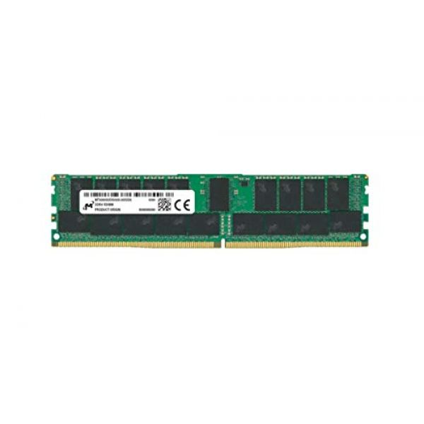 CRUCIAL DRAM Micron - DDR4 - module - 32 GB - DIMM 288-pin - 2933 MHz / PC4-23400 - CL21 - 1.2 V - registered with parity - ECC Image
