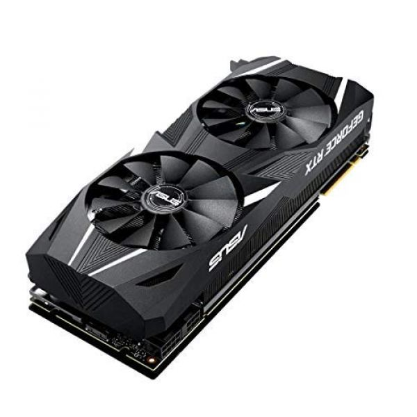 Asus Dual GeForce RTX 2080 (8GB) Graphics Card PCI-E (3 x  DisplayPort)/HDMI/USB-C