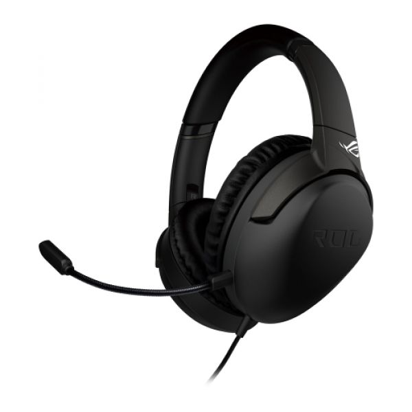 Asus ROG STRIX GO Gaming Headset, USB-C (USB2 Adapter), Airtight Chambers, AI Noise-Cancelling Mic, Controls on Earcups Image