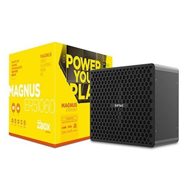 Zotac Magnus ER51060 AMD Ryzen 5 (1400) 3 2GHz 32GB WLAN Windows 10 (  GeForce GTX 1060 3GB)