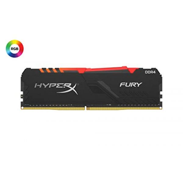 Kingston 16GB 3200MHz DDR4 CL16 DIMM HyperX FURY Image