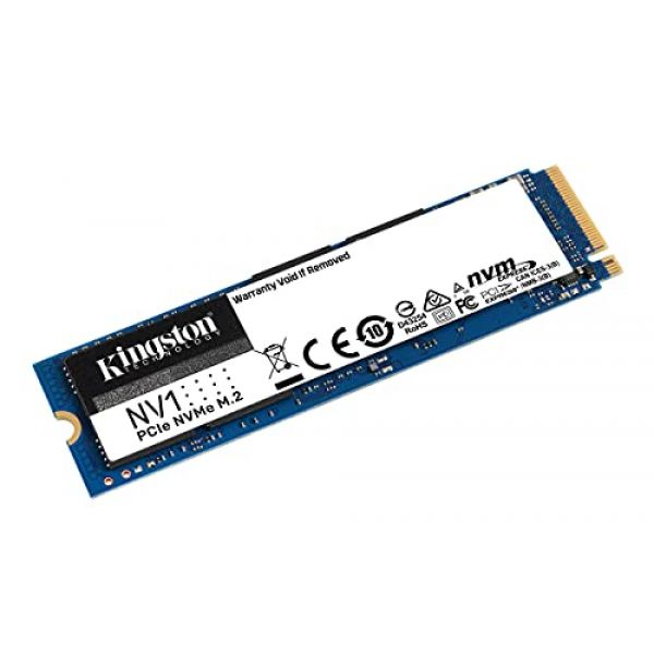 KINGSTON - SSD 2000GB NV1 M.2 2280 NVME SSD NVME PCIE GEN 3.0 X 4 LANES Image