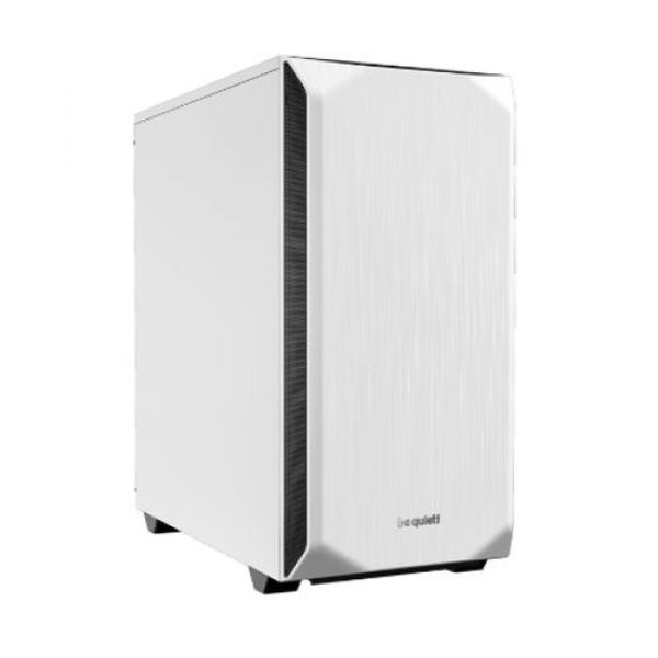 Be Quiet! Pure Base 500 Gaming Case ATX No PSU 2 x Pure Wings 2 Fans PSU Shroud White Image