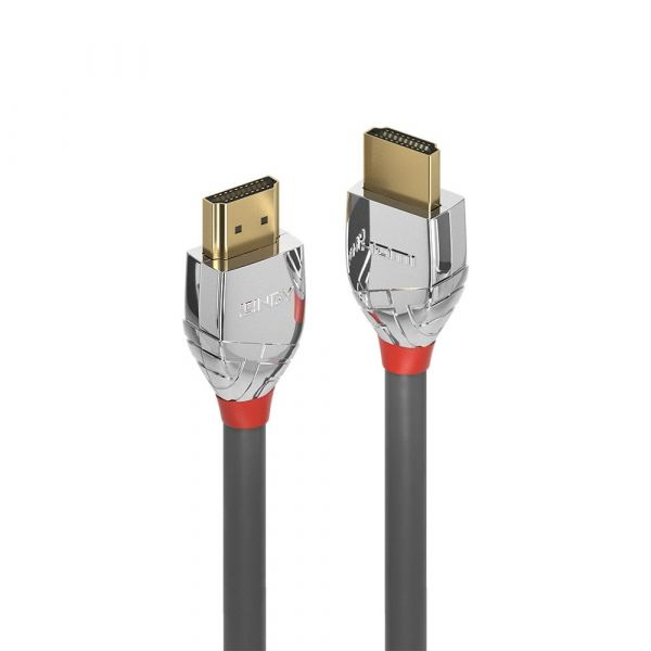 Lindy (5m) HDMI Video Cable (Black/Silver) Image