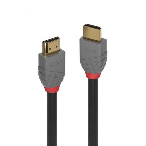 Lindy (2m) HDMI Video Cable (Black/Grey) Image