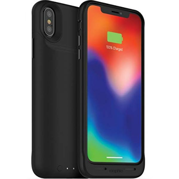 finest selection 3cee3 3115f Details about Mophie Juice Pack Air (1,720mAh) Phone Charging Case (Black)  for Apple iPhone X