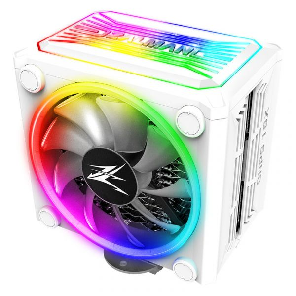 Zalman CNPS16X ARGB 120mm CPU Cooler - White Image