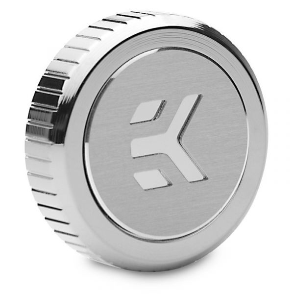 EK Water Blocks EK-Quantum Torque Plug w/Badge - Nickel Image