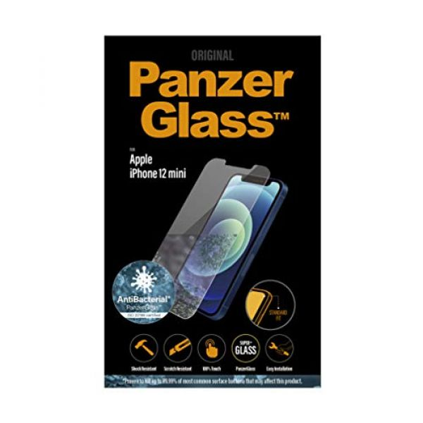 PANZER GLASS - SCREEN PROTECTORS APPLE IPHONE 12 MINI AB Image
