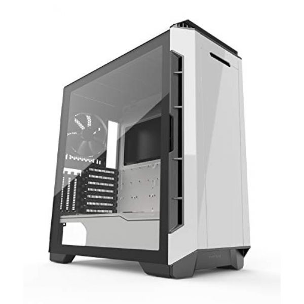 Phanteks Eclipse P600S Glass Silent Midi Tower Case - White Image