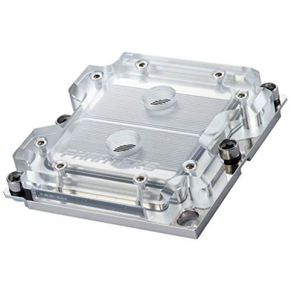 Phanteks C3647I Socket P CPU Water Block Square Type With DRGB LED Lighting Image
