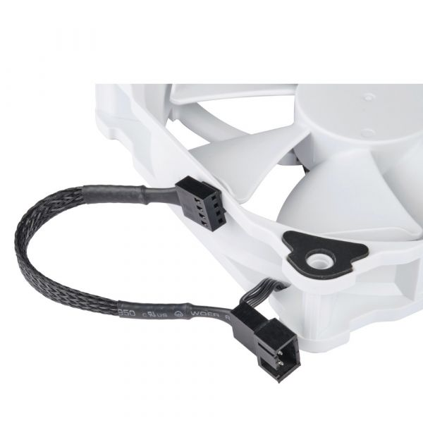 Phanteks PH-F120MP 120mm High Static Pressure 2200rpm PWM Fan - White Image