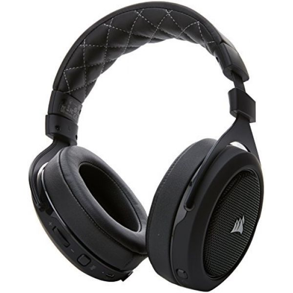 Details about Corsair HS70 Wireless Gaming Headset with Microphone (Carbon)