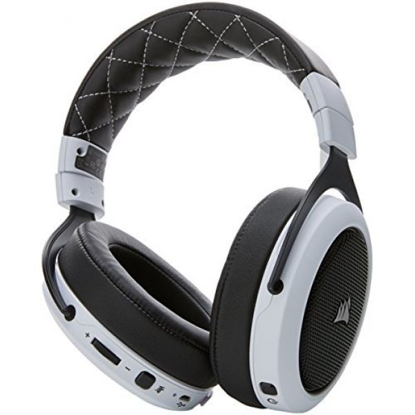 Details about Corsair HS70 Wireless Gaming Headset with Microphone (White)