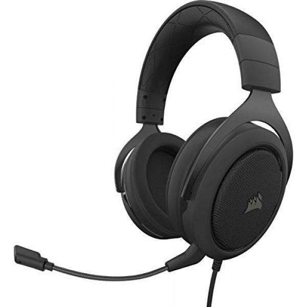 CORSAIR Headset USB Stereo HS50 Pro Stereo Carbon Image