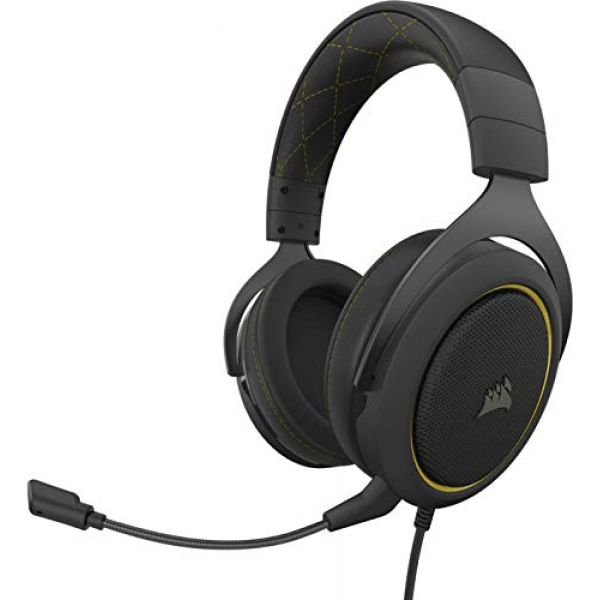 CORSAIR Headset USB 7.1 HS60 Pro Surround Yellow Image