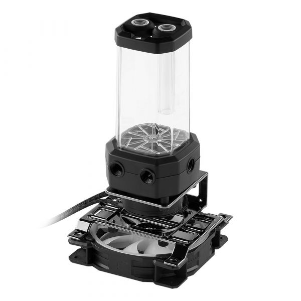 Corsair Hydro X Series XD5 RGB Black Reservoir / Pump Combo - 330ml (CX-9040006-WW) Image