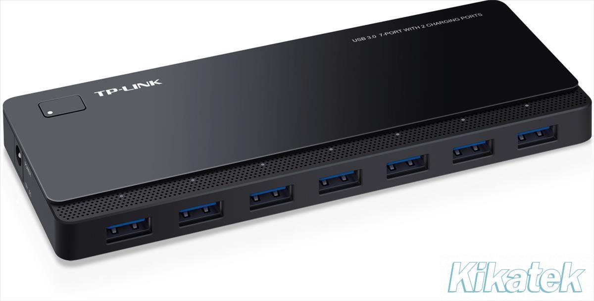 TP-LINK UH720 7-Port USB 3.0 Hub with 2 Charging Ports V1 ...
