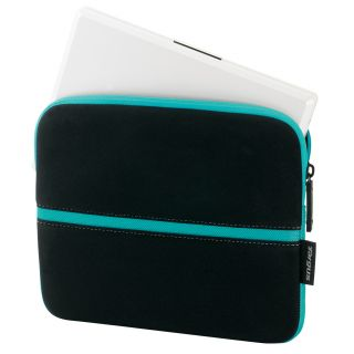 Product image of Targus Skin Laptop Case (Black/Turquoise) for 10.2 inch Notebook