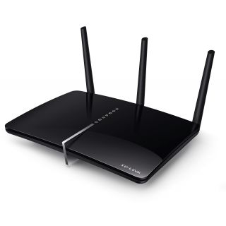 Product image of TP-LINK AC1750 1300Mbps (5GHz) 450Mbps (2.4GHz) Dual-Band Wireless Gigabit ADSL2+ Modem Router Black (V1.0)