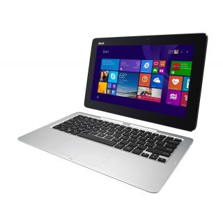 Product image of Asus T200TA Transformer Book (11.6 inch) Convertible Tablet PC Intel Atom (Z3795) 1.59GHz 4GB 500GB + 32GB SSD WLAN BT Windows 8.1 Pro (Integrated Intel HD Graphics) with Keyboard Dock