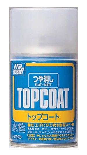 Image of Mr Hobby flat matt top coat